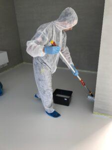 Fußbodengrundreinigung