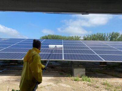 Solarparkreinigung Brandenburg