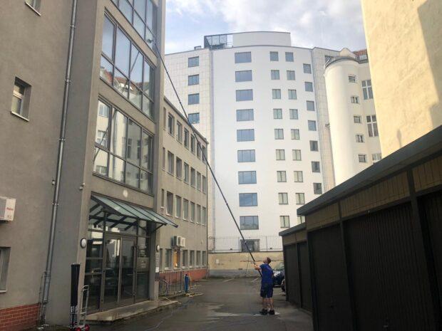 glasfassadenreinigung  berlin