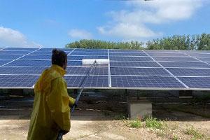 Geschultes Personal der Conzept Clean GmbH für bundesweite Solarreinigung.